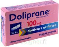 Doliprane 100 Mg Suppositoires Sécables 2plq/5 (10) à TOULOUSE
