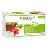 Herbesan Infusion Bio Tisane Détox 20 Sachets à TOULOUSE