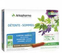Arkofluide Bio Ultraextract Solution Buvable Détente Sommeil 20 Ampoules/10ml à TOULOUSE