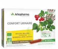 Arkofluide Bio Ultraextract Solution Buvable Confort Urinaire 20 Ampoules/10ml à TOULOUSE