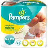 PAMPERS COUCHES NEW BABY MICRO 1-2,5 KG x 24 à TOULOUSE