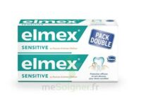 ELMEX SENSITIVE DENTIFRICE, tube 75 ml, pack 2 à TOULOUSE