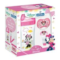 DODIE Mon Coffret Minnie (1 biberon Initiation+ 330ml rose, 1 sucette anatomique +18 mois, 1 attache sucette) - Disney Baby à TOULOUSE