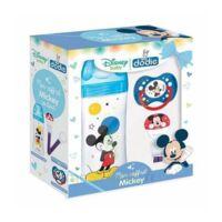 DODIE Mon Coffret Mickey (1 biberon Initiation+ 330ml bleu, 1 sucette anatomique +18 mois, 1 attache sucette) - Disney Baby à TOULOUSE