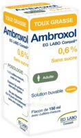Ambroxol Eg Labo Conseil 0,6 %, Solution Buvable à TOULOUSE
