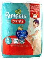 Pampers Baby Dry Pants T5 - 12-18kg à TOULOUSE