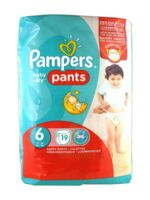 Pampers Baby Dry Pants T6 - 15+kg à TOULOUSE