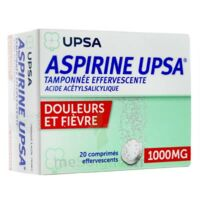 Aspirine Upsa Tamponnee Effervescente 1000 Mg, Comprimé Effervescent à TOULOUSE