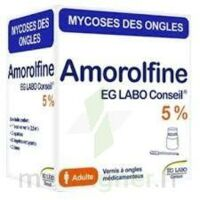 Amorolfine Eg 5 % V Ongles Médicamenteux 1fl/2,5ml+10 Spat à TOULOUSE