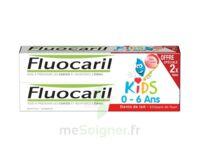 Fluocaril Kids Gel dentifrice Fraise 0/6ans 2*50ml à TOULOUSE