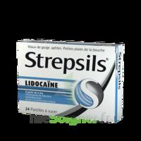 Strepsils Lidocaïne Pastilles Plq/24 à TOULOUSE