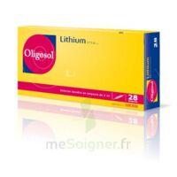 Oligosol Lithium Solution Buvable En Ampoule Ou En Récipient Unidose 28amp/2ml à TOULOUSE