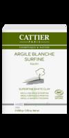 Cattier Argile Poudre surfine blanche 200g à TOULOUSE