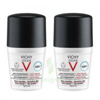 Vichy Homme Déodorant anti-transpirant anti trace 48H 2*Billes/50ml à TOULOUSE