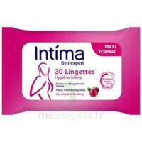 Intima Gyn'expert Lingettes Cranberry Paquet/30 à TOULOUSE
