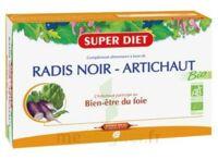 Superdiet Radis noir Artichaut Bio Solution buvable 20 Ampoules/15ml à TOULOUSE