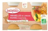 Babybio Pot Mirabelle Pomme à TOULOUSE