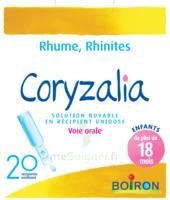 Boiron Coryzalia Solution Buvable Unidose B/20 à TOULOUSE