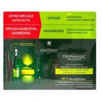 René Furterer Triphasic Progressive Sérum Antichute Coffret 8 Flacons X 5,5ml + Shampoing Stimulant 100 Ml à TOULOUSE