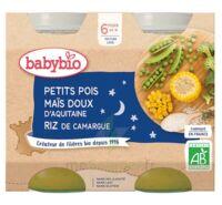 Babybio Pot Bonne Nuit Petits Pois Mais Riz à TOULOUSE